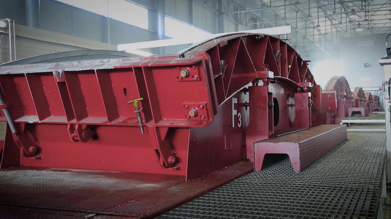 CP Technology - Casseri per prefabbricazioni conci e sistemi a carosello